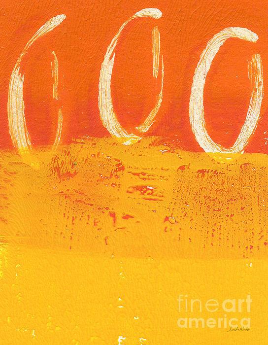 Desert Sun Print by Linda Woods