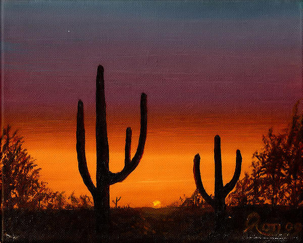 Ron Chabot - Desert Sunrise