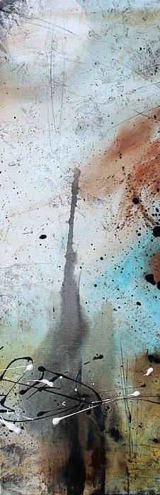 Desert Surroundings 3 By Madart Print by Megan Duncanson