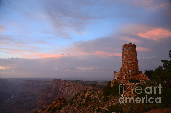 Desert View Watchtower Print by Cassie Marie Photography