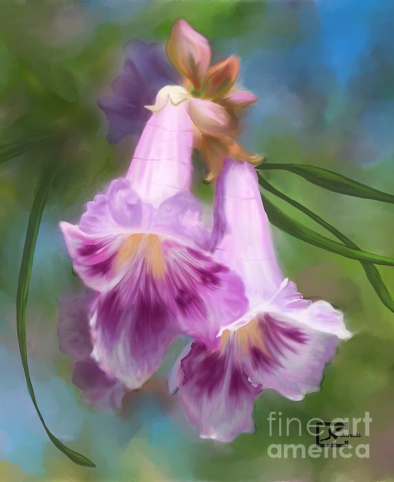 Judy Filarecki - Desert Willow Floral Wall Art