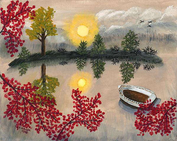 Deserted Print by Susan Schmitz