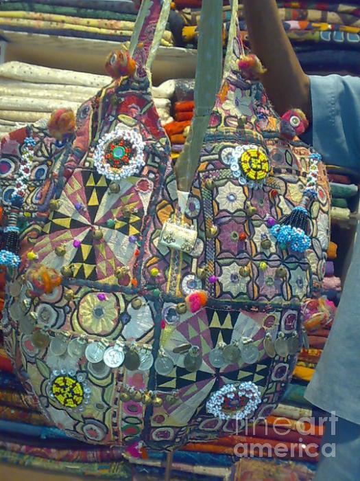 Designer Bag Tapestry - Textile