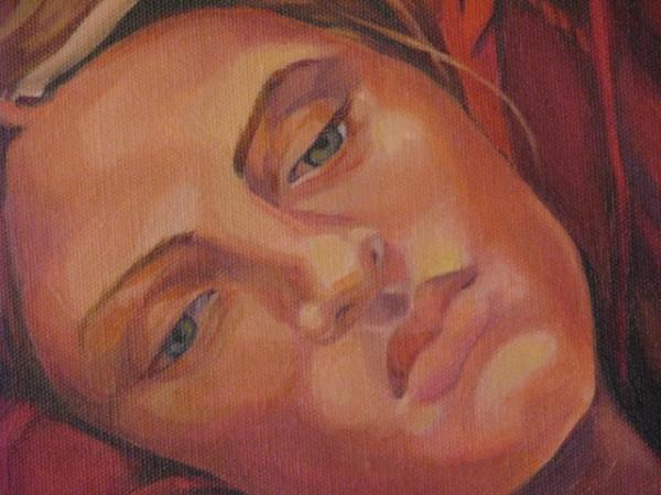 Detail Of Dreamer Painting