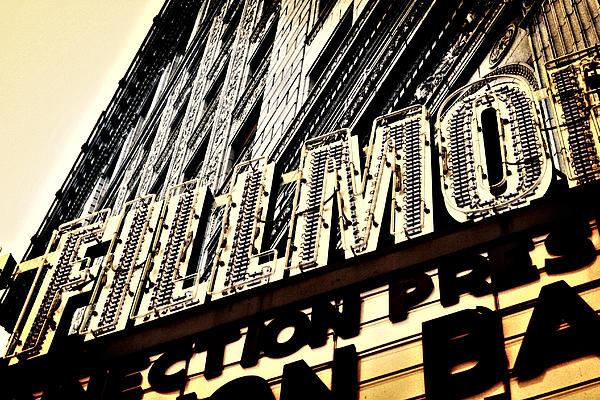 Detroit Fillmore Theatre Print by Alanna Pfeffer