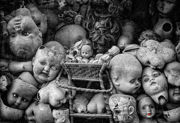 Devil Dolls Print by Michael Avory