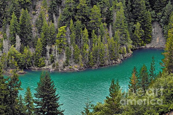 Diabolo Lake North Cascades Np Wa Print by Christine Till