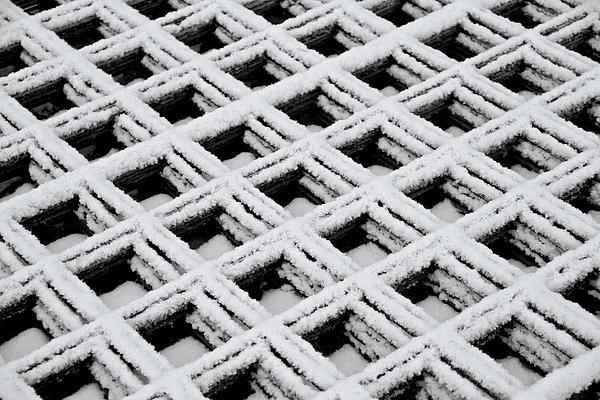 Diamonds In The Snow Print by Odd Jeppesen
