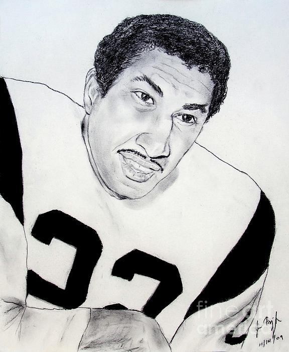 Jim Fitzpatrick - Dick Bass of the Los Angeles Rams