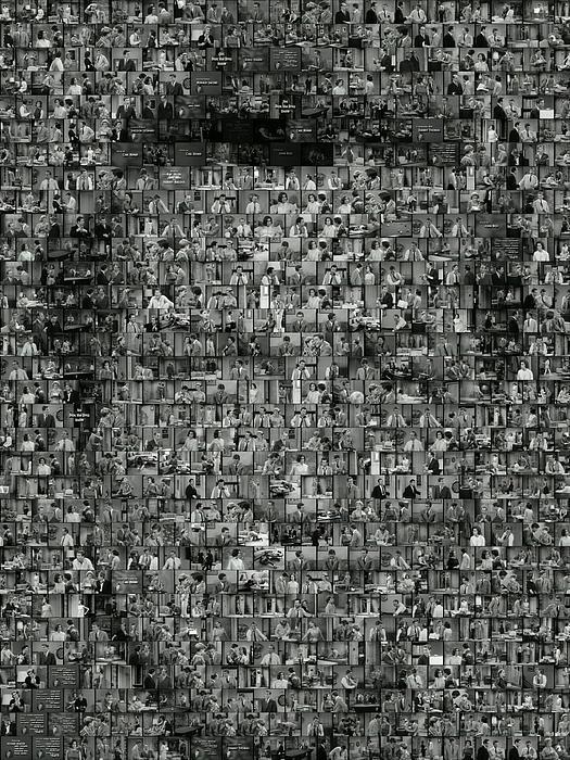 Paul Van Scott - Dick Van Dyke Mosaic