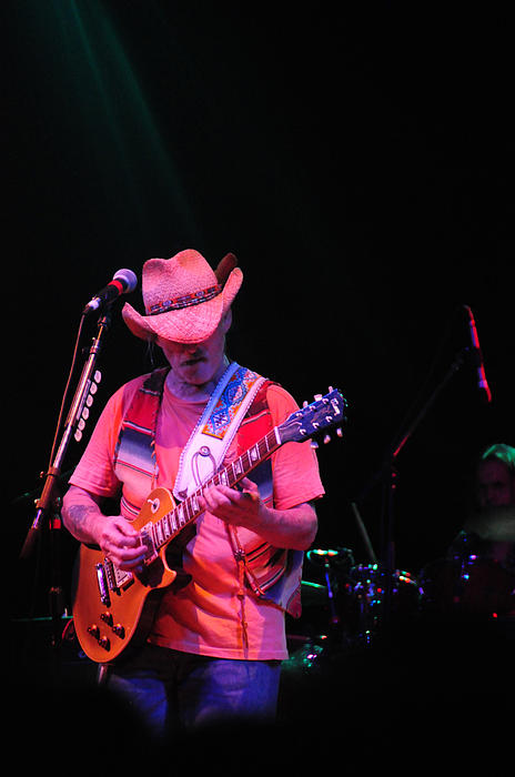 Dickie Betts Print by Mike Martin
