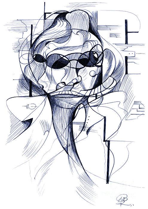Diego At The Door Print by Nicholas Burningham