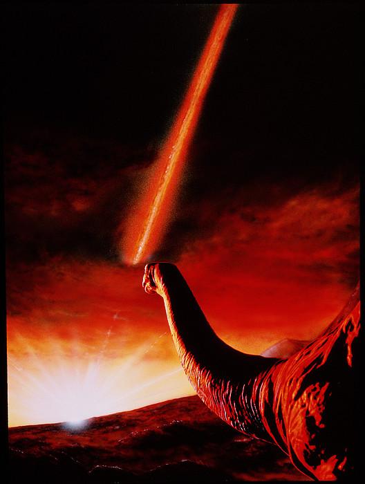 Dinosaur Extinction Print by Julian Baum