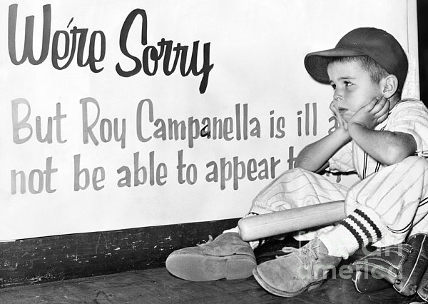 Disappointed Boy, 1957 Print by Granger