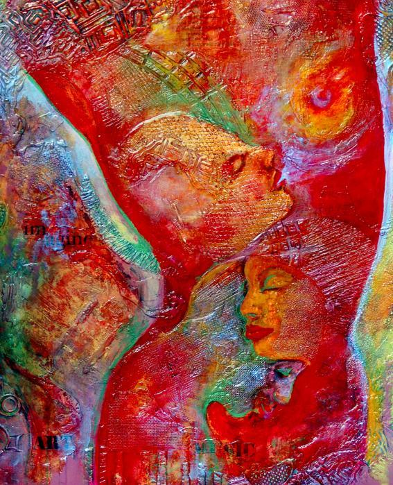 Disassembled Print by Claudia Fuenzalida Johns
