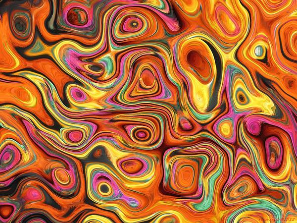 Dissolving  Print by Rece Reid