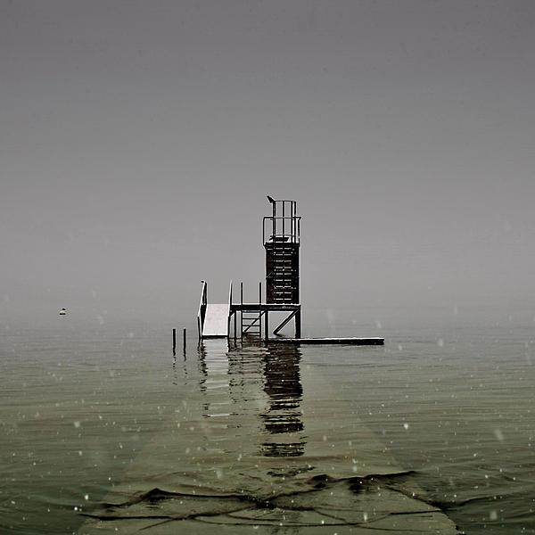 Diving Platform Print by Joana Kruse
