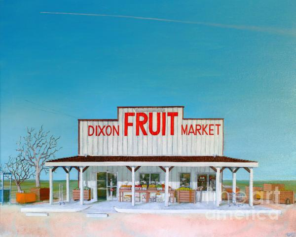 Dixon Fruit Market 1992 Print by Wingsdomain Art and Photography