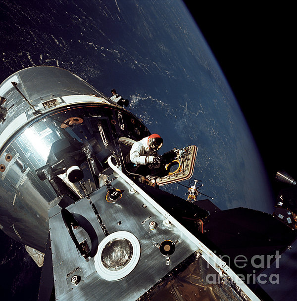 Docked Apollo 9 Command And Service Print by Stocktrek Images