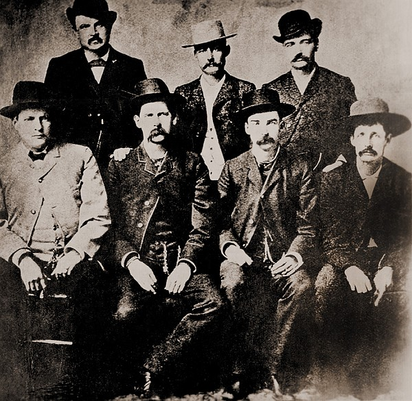 Dodge City Peace Commissioners Print by Everett