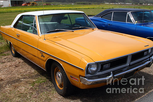Dodge Dart Swinger . 7d15255 Print by Wingsdomain Art and Photography