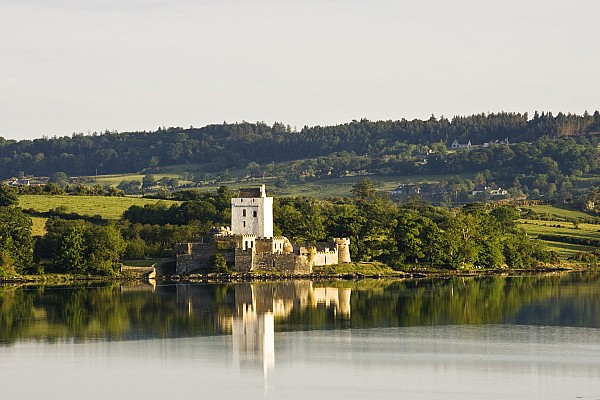 Doe Castle, County Donegal, Ireland Print by Peter McCabe