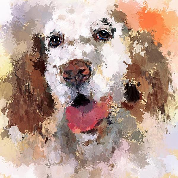 Dog Pet Print by Yury Malkov