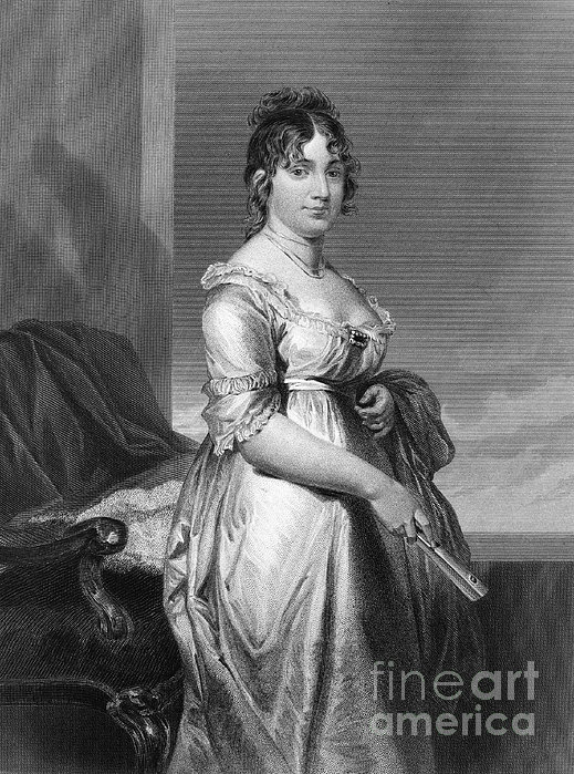 Dolley Payne Todd Madison Print by Granger