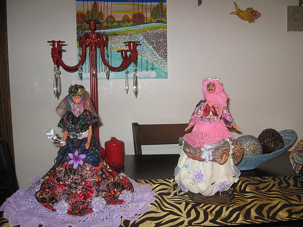 dolls of iran fine art