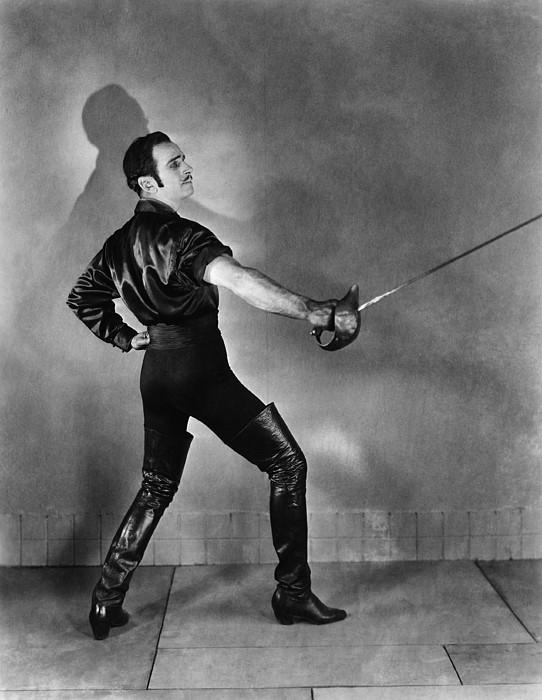 Don Q Son Of Zorro, Douglas Print by Everett