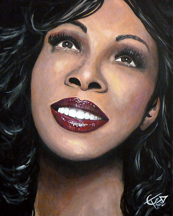 Donna Summer Print by Tom Carlton