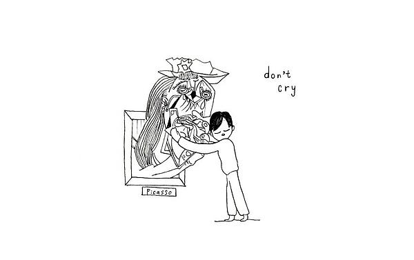 Don't Cry Print by K Yasukawa