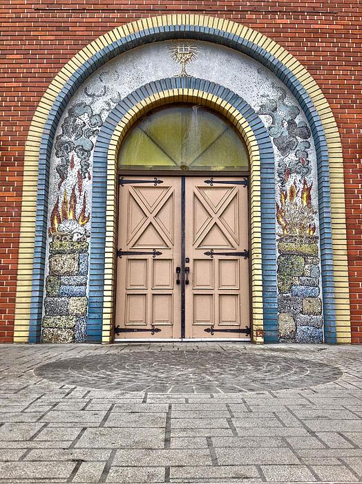 Doors Of Faith Print by Jerry Cordeiro
