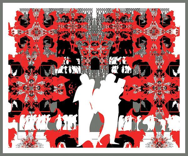 Doors To Eternity Print by Olena Kulyk