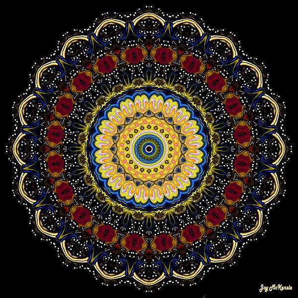 Joy McKenzie - Dotted Wishes No. 6 Mandala