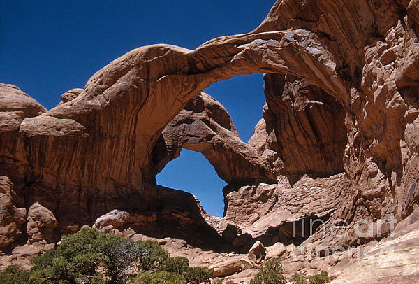 Double Arch Print by Photo Researchers