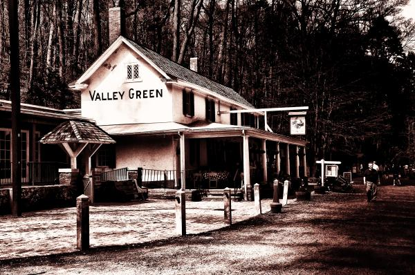 Down At Valley Green Print by Bill Cannon