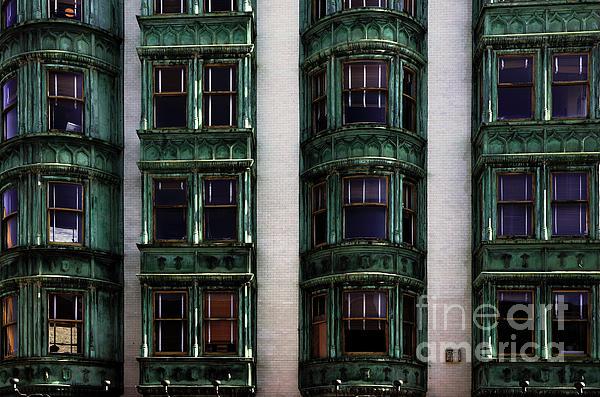 Downtown San Francisco Print by Bob Christopher