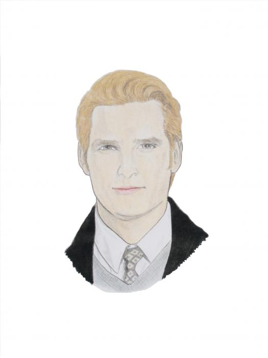 Dr Carlisle Cullen - Peter Facinelli Drawing 