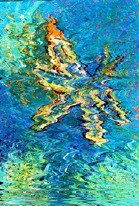Dragonfly With Sparkles Print by Anne-Elizabeth Whiteway