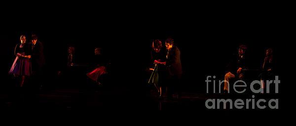 Drama Of Life Print by Venura Herath