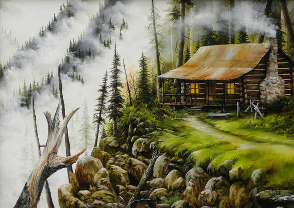 Dream Home Painting  - Dream Home Fine Art Print