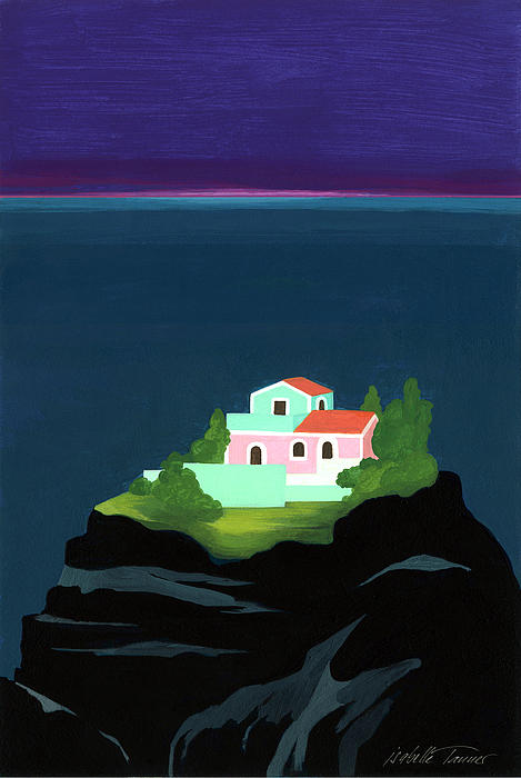 Dreaming Of Sicily Print by Isabelle Tanner
