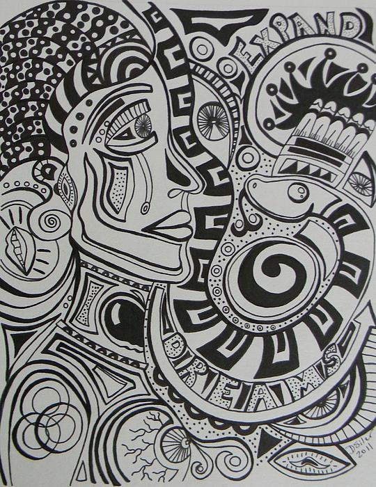 Dreams Print by Dawn Siler