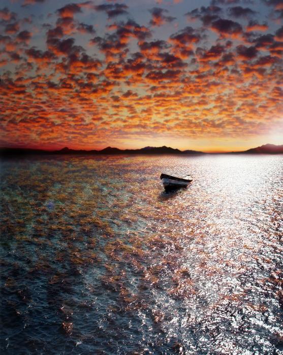 Drift Away Print by Photodream Art