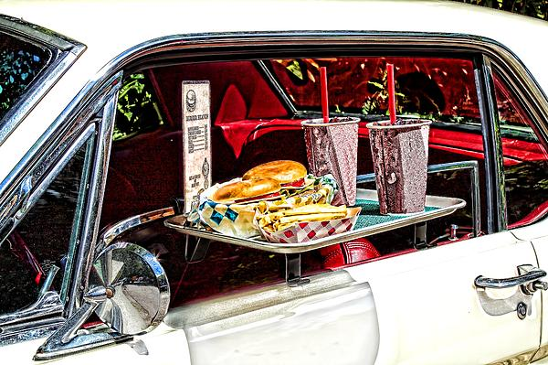 Drive-in Print by Rudy Umans