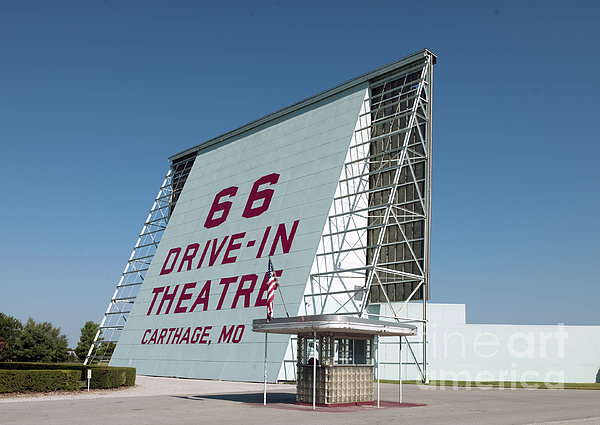 Drive-in Theater, 2009 Print by Granger