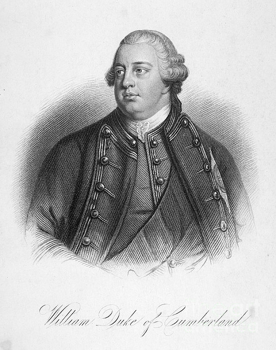 Duke Of Cumberland Print by Granger