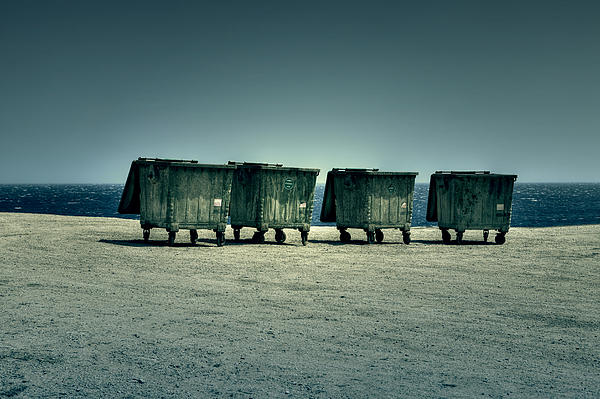 Dumpster Print by Joana Kruse