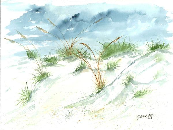Dunes 3 Seascape Beach Painting Print Painting